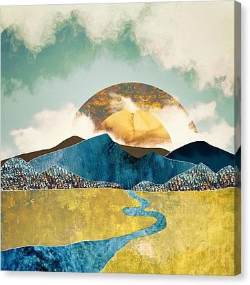 Wanderlust Canvas Print by Katherine Smit
