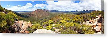 Canvas Print featuring the photograph Wangara Hill Flinders Ranges South Australia by Bill Robinson