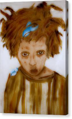 Wanna Be Back Home Canvas Print by Rosemen Elsayad