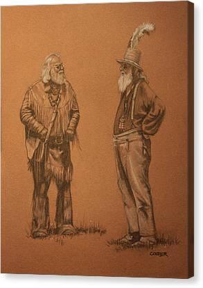 Wanna Buy A Hat? Canvas Print