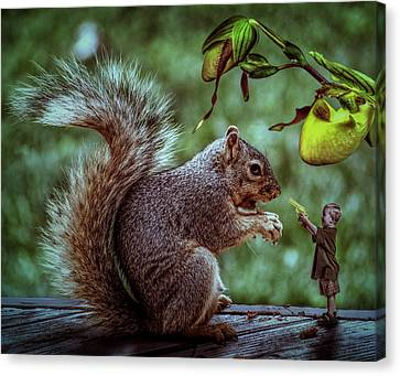 Wanna Play Canvas Print