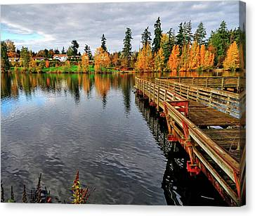 Wapato Dock Canvas Print by Tim Coleman