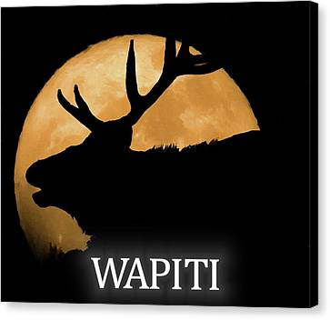 Wapiti Canvas Print by Dan Sproul