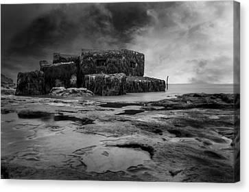 War Bunker Canvas Print by Martin Newman