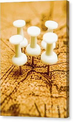 War Game Tactics Canvas Print by Jorgo Photography - Wall Art Gallery