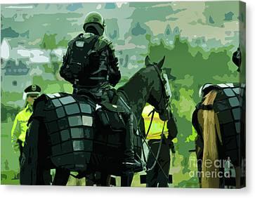 War Horse Canvas Print by Al Bourassa