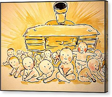 War Innocence Canvas Print by Paulo Zerbato