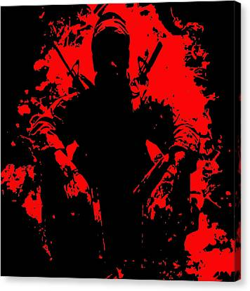 War Is Hell 2 Canvas Print by Brian Reaves