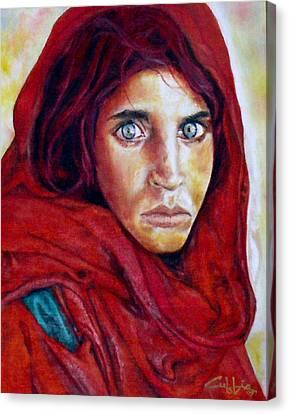 War Orphan Canvas Print by G Cuffia