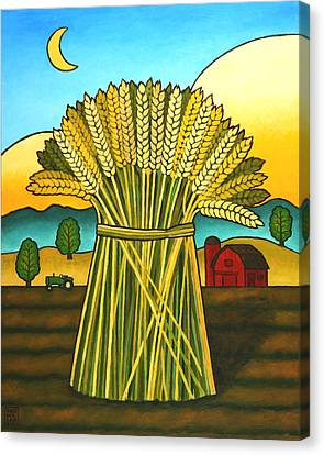 Rural Landscapes Canvas Print - Wards Wheat by Stacey Neumiller