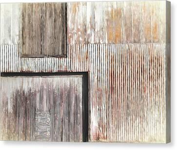 Warehouse Abstract Canvas Print
