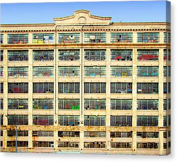 Physical Graffiti Canvas Print - Warehouse Physical Graffiti by S Dolinni