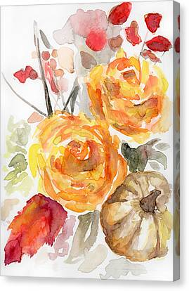 Warm Autumn Canvas Print by Arleana Holtzmann