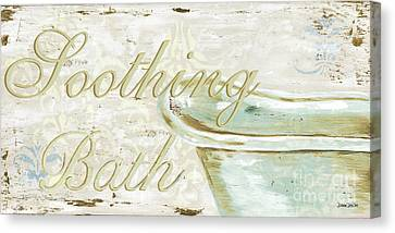 Wash Tubs Canvas Print - Warm Bath 1 by Debbie DeWitt