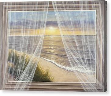 Warm Breeze Canvas Print