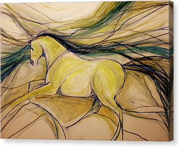 Gypsy Canvas Print - Warm Friend by Jennifer Fosgate