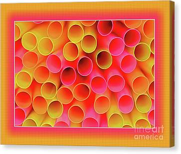 Canvas Print featuring the photograph Warm In Neon By Kaye Menner by Kaye Menner