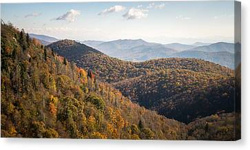 Warm Morning On The Parkway Canvas Print by Clay Townsend