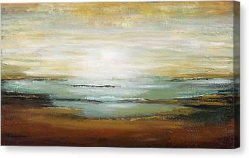 Warm Ocean Canvas Print