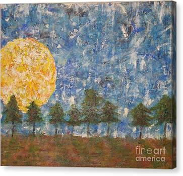 Warm Springs Morning Canvas Print by Scott Gearheart
