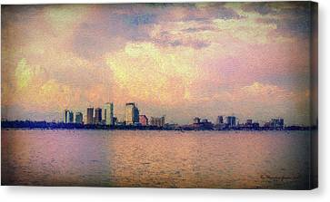 Warm Summer Nights Canvas Print by Marvin Spates