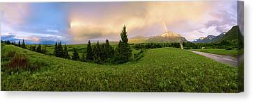 Warm The Soul Panorama Canvas Print