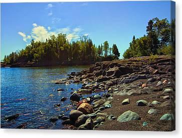 Warmth Of Sugarloaf Cove Canvas Print by Bill Tiepelman