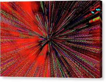 Canvas Print featuring the photograph Warp Drive Mr Scott by Tony Beck
