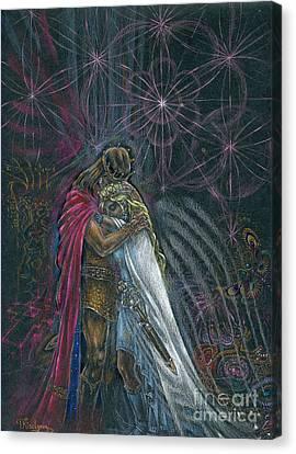 Warriors Of Infinity Canvas Print by Tatiana Kiselyova