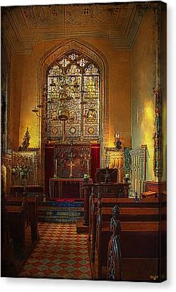 Warwick Castle Chapel Canvas Print by Chris Lord