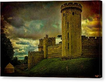 Warwick Castle Canvas Print by Chris Lord