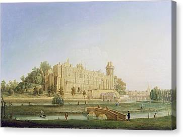 Warwick Castle Canvas Print by Francis Harding