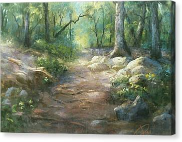 Warwick Woods Canvas Print