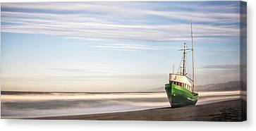 Washed Ashore Canvas Print by Jon Glaser