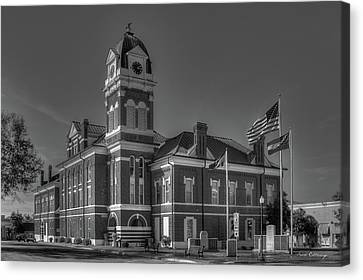 Washington County Courthouse 2 Art Canvas Print by Reid Callaway