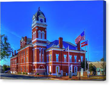 Washington County Courthouse Art Canvas Print by Reid Callaway