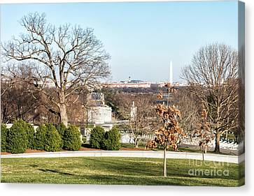 Washington Dc City Landscape Canvas Print