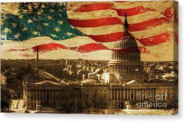 Washington Dc Usa 002 Canvas Print by Gull G
