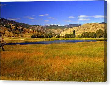 Washington Landscape Canvas Print by Marty Koch