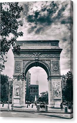 Washington Square Arch Canvas Print by Jessica Jenney