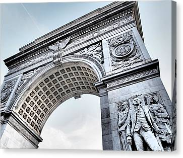 Washington Square Park Arch Canvas Print