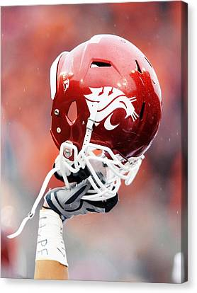 Washington State Helmet  Canvas Print by Getty Images