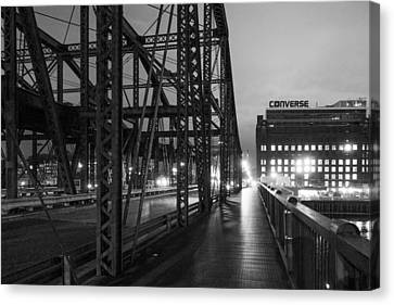 Washington Street Bridge Canvas Print by Steven Green