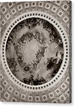 Washinton's Apotheosis Canvas Print