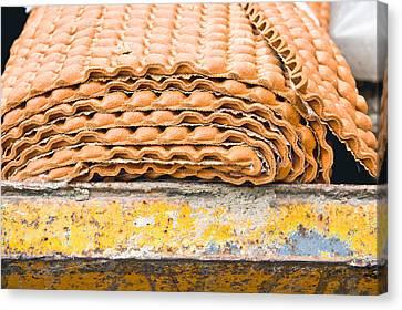 Waste Underlay Canvas Print by Tom Gowanlock