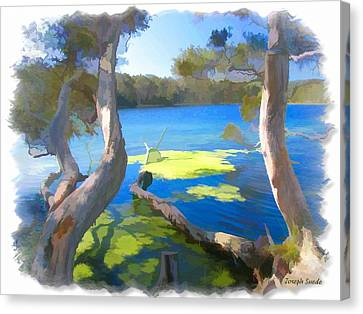 Wat-0002 Avoca Estuary Canvas Print