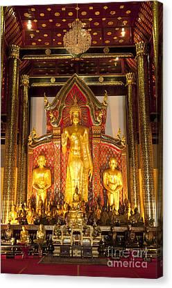 Wat Chedi Luang Wora Wihan Canvas Print by Greg Vaughn - Printscapes
