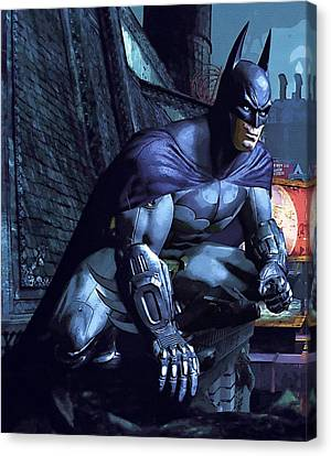 Watch Batman Poster Canvas Print