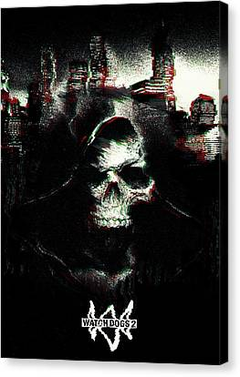 Watch Dogs 2 Canvas Print