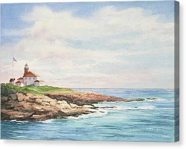 Watch Hill Light Canvas Print